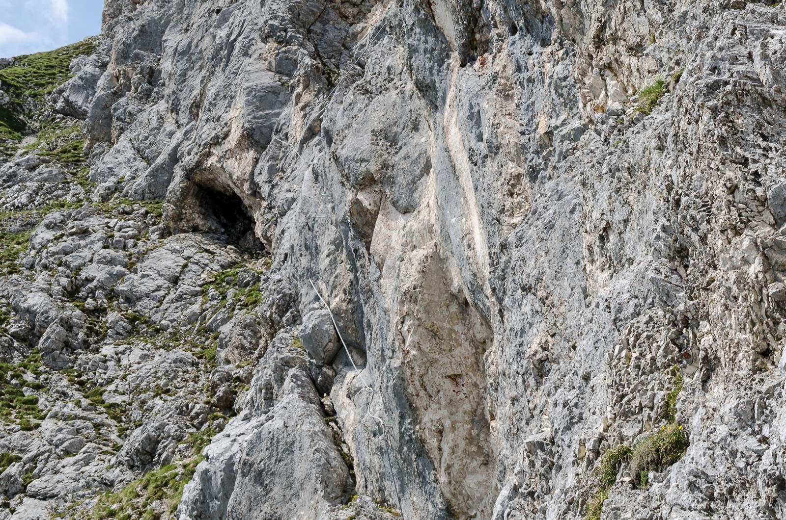 Klettersteig Köllenspitze