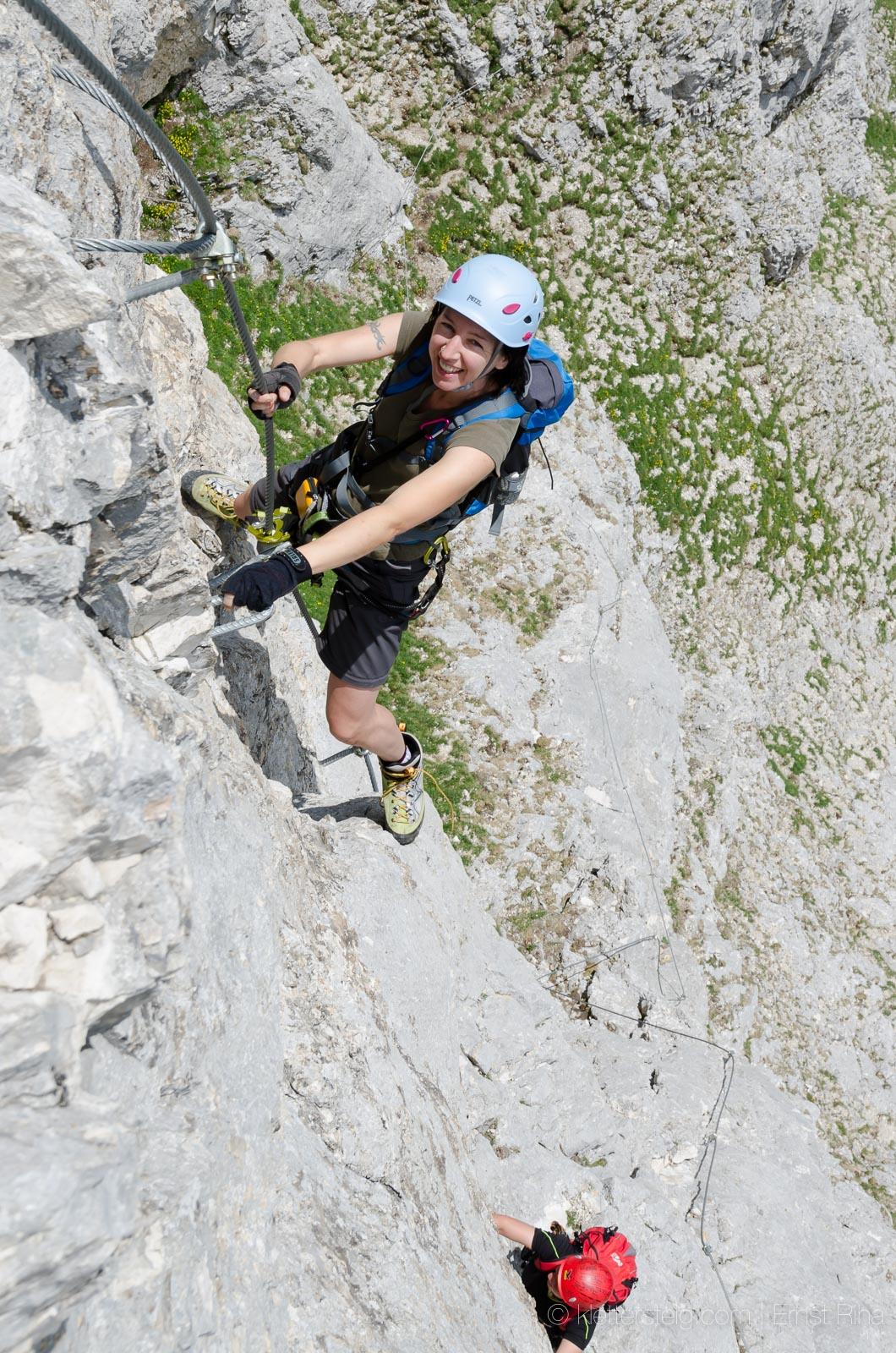 Südsporn Klettersteig